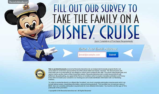 Take Your Family On A Disney Cruise!