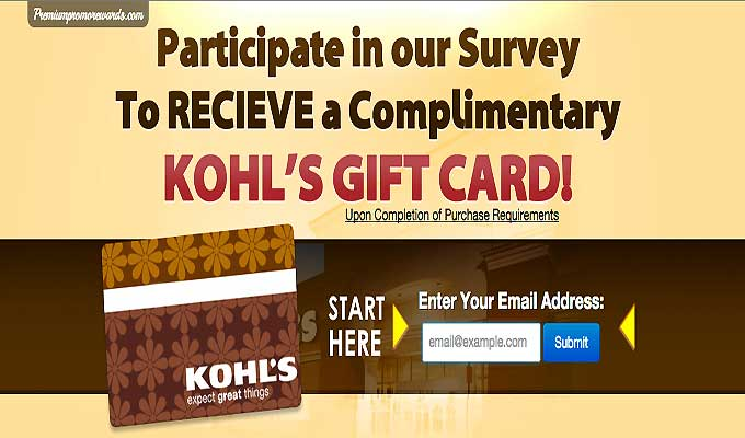 Go On A Shopping Spree With A Kohl's Gift Card
