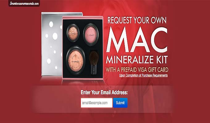 Get Your MAC Mineralize Kit With A Prepaid Visa Gift Card
