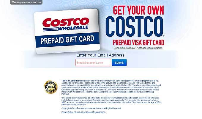 Get Your Costco $1000 Visa Gift Card