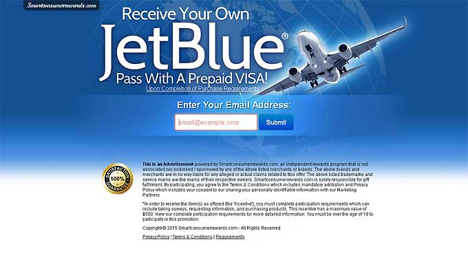 Fly With JetBlue With A Prepaid Visa