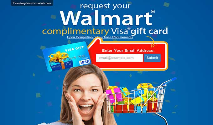 Request Your Walmart Gift Card