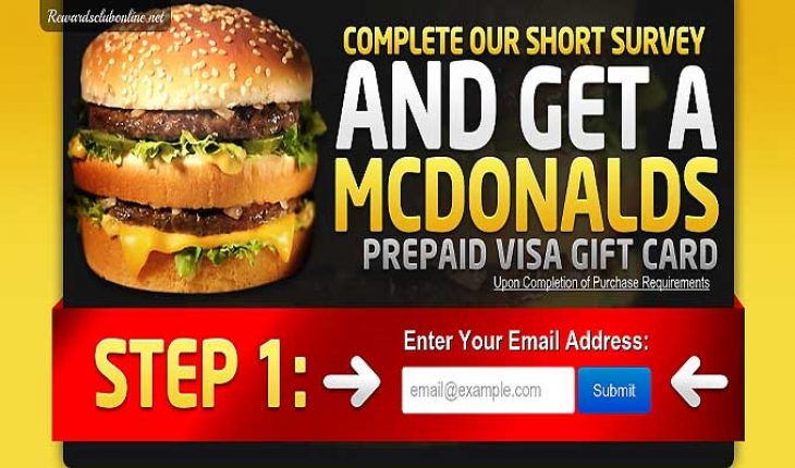 Enjoy A Day Of Eating With A McDonald's Gift Card! |