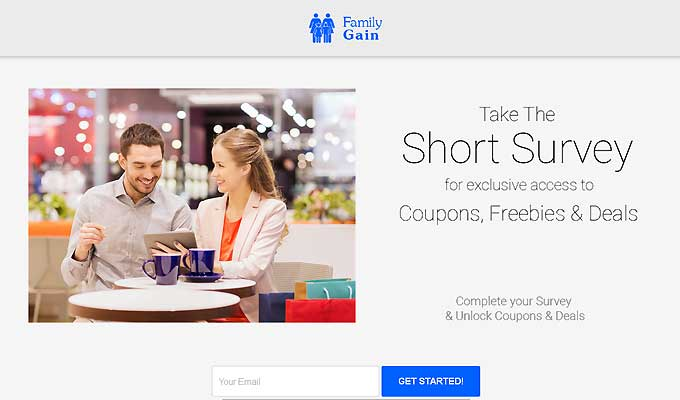 Take The Short Survey For Exclusive Coupons, Freebies and Deals