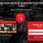 Get One Year Netflix Subscription
